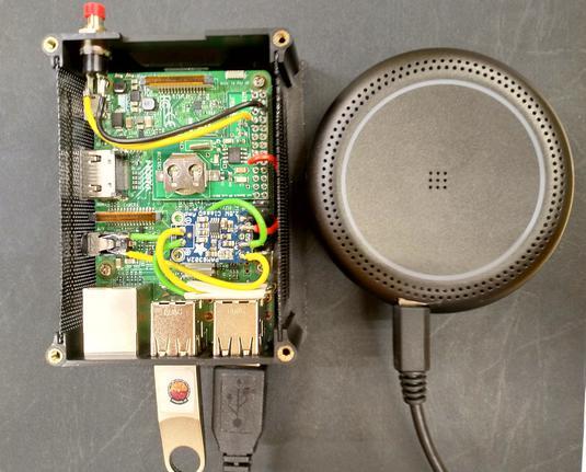 Raspberry Pi based recording device